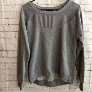 Rampage Gray Scoop neck Sweater